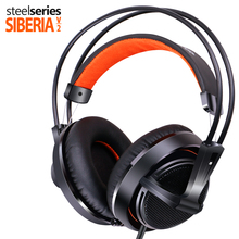 Steelseries Siberia 200 headphones with microphone Gaming headphones high quality game headset Noise Isolating fone de ouvido