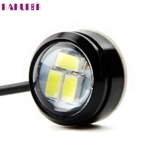 2017 New light 4x3W Strobe Flash Eagle Eye LED Car Light Lamp+Wireless Remote Control fashion hot drop shipping sep12(China)