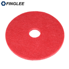 FINGLEE 5pcs Red 17inch cleaning and glossing polishing pads ,marble granite stone floor grinding polishing high brightness(China)