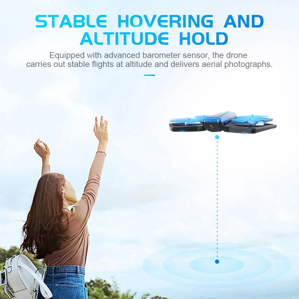 JJRC H43WH CRAB WIFI FPV 720P HD Camera Drone RC Quadcopter G-sensor Foldable Mini RC Selfie Drones Multicopter Quad Dron Toy (1)