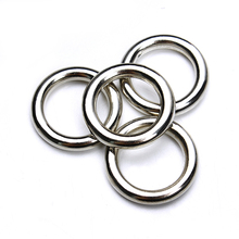 50pcs/lot Rhodium Closed Jump Rings 15mm Single Loop Plastic Split Rings for DIY Jewelry Making Finding Connectors F3677(China)