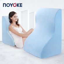 NOYOKE 63*47*33 cm Bed Side Large Sleeping Memory Foam Pillow Cushion Bed Room Reading,Watching TV,Playing, Memory Foam Cushion(China)