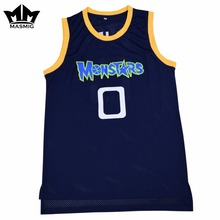 MM MASMIG Alien 0 Monstars Basketball Jersey Dark Blue S-3XL