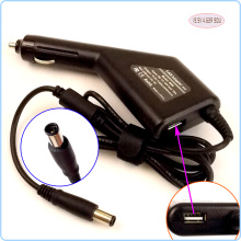 Laptop Car DC Adapter Charger Power Supply + USB Port for Dell Latitude D630 D800 D810 D820 D830 D631 D631N