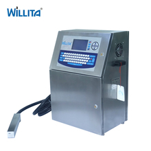 Industrial Continuous Inkjet Printing Date Coding Machine Suppliers