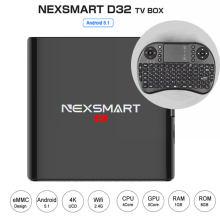 New Set top box 1GB/8GB android tv box D32 Rockchip RK3229 Quad-Core Cortex A7 smart TV BOX Android 5.1 Streaming Media Player
