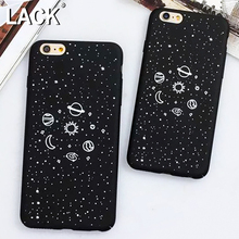 LACK Cartoon Universe Series Case For iphone 7 Case Planet Moon Sun Stars Airship Cover Hard Phone Cases For iphone7 6 6S PLus