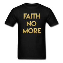 FAITH NO MORE Logo Tshirt Men and Women Cotton Tee size S~XXXL Printing
