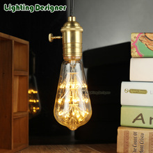 ST64 night lamp lamp LED vintage lamp bulb 220V 1.8W stylish DIY bulb commercial lighting bulb pendant lamp bulb