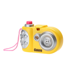 Baby Toy Camera Plastic Study Toy Kids Lovely Cartoon Projection Camera Learning Educational Toys for Children Gift