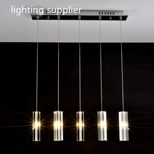 hanging dining room lamp LED Pendant lights Modern Kitchen lamps dining table lighting for dinning room Home pendant light(China)