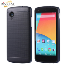 KISSCASE 2 In 1 Combo Case For LG Nexus 5 Phone Case TPU + Hard Plastic Frame Hybrid Cover For LG Google Nexus 5 E980 D820 D821
