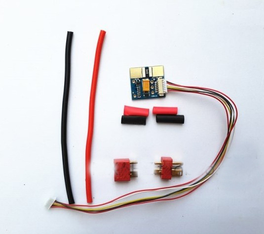 Free Shipping APM2.52 APM2.6 90A Voltage Sensor Current Sensor Module Meter w/Power Cable OSD Current Display<br><br>Aliexpress