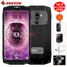 "2017 Blackview BV9000 Pro 5.7""18:9 smartphone 6G+128G IP68 Waterproof P25 2.6GHz 4180mAh Android 7.1 Dual Cam celular NFC phone(China)"