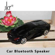 JKR Bass Subwoofer Car Hifi Music Mini Wireless Bluetooth Speaker Blutooth Portable For Phone PC Blue Tooth FM Radio Usb Sound(China)