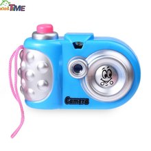 New Cute and Colorful Children Cartoon Mini Shining Camera Educational Toys Different Colors for Boys and Girls