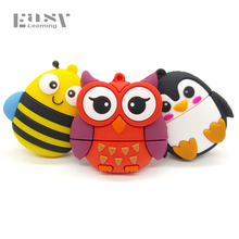 Easy Learning USB 2.0 New Toys Cartoon USB Flash Drives 4GB 8GB 16GB 32GB 64G Pen Drive Pendrives USB Disk Memory Stick(China)