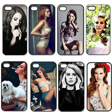 Hot Singer Sexy Girl Lana Del Rey Pattern Cell Phones Cover Case for iPhone 5 5s Cases Retail drop shipping