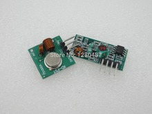 RF wireless receiver module & transmitter module board for arduino super regeneration 315/433MHZ DC5V (ASK /OOK) 25pair =50pcs