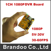 AHD DVR Motherboard DVR PCB board Support 1 Channel 1080P