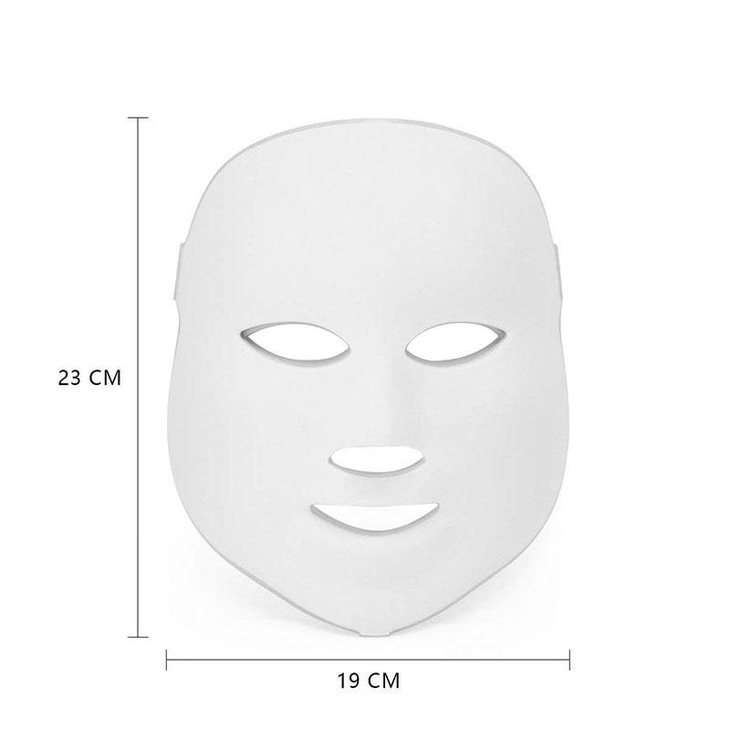7 Colors LED Facial Mask Face Mask Machine Photon Therapy Light Skin Rejuvenation Acne Facial PDT Skin Care Beauty Mask 2