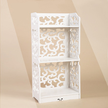 New Arrival 3 Tier Book Shelf Shoes Rack Home Storage Living Bedroom Furniture 80*40*23cm(China)