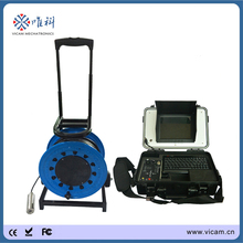 under water camera with 50 meters cable video pipe inspection camera with 40mm head V8-100