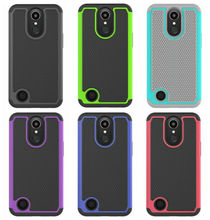 Hybrid Rugged Football Case For LG G stylo 3 stylus 3,LV5 K10 2017,K20 Plus Hard Plastic+Silicon ShockProof Defender Skin 100pcs