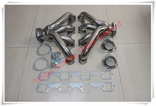 FOR FIT BIG BLOCK BBC EXHAUST HEADER FOR FIT CADILLAC FIT V8 472/500 STAINLESS STEEL EXHAUST RACING HEADERS+BOLTS