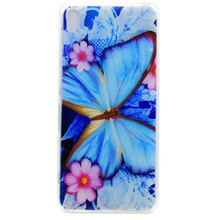 Slim Soft TPU Cases For Sony Xperia X XA X Performance XP Case Cover Colorful Clear Printed Flower Silicone Protective Shell(China)