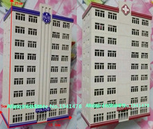1/150 Model Train N scale model  police hospital building architectural model material sand table model materials Free Shipping