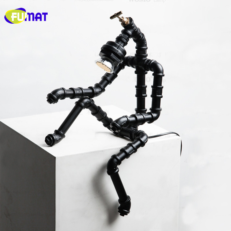 Iron Robot Lamps 14