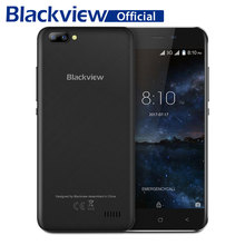 Blackview A7 Smartphone Dual Rear Camera Android 7.0 5.0 inch 2800mAh MT6580A Quad Core Cellphone 1GB RAM 8GB ROM Mobile Phone