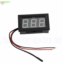 Digital LED -50 ~ 110C Thermometer Car Temperature Monitor Panel Meter DC 12v(China)