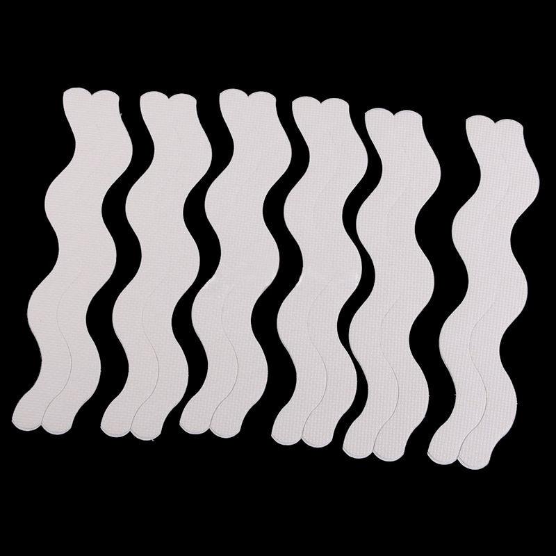 Mayitr 12pcs Anti Slip Bath Grip Non-slip Shower Strips Stair Flooring Tape Mat Safety Stickers For Bathroom Accessories