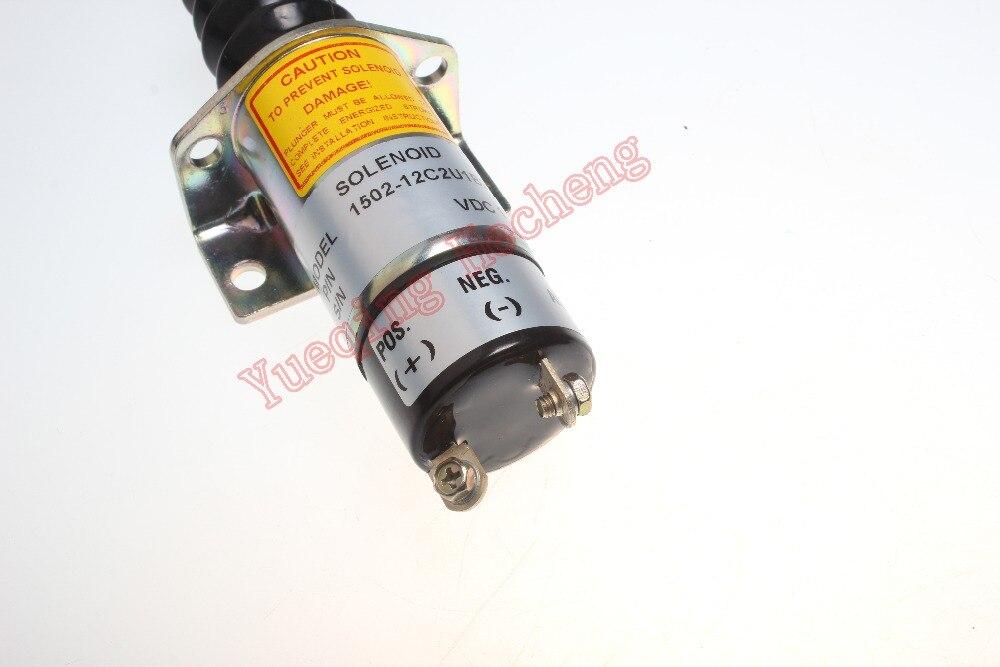 1502-12C2U1B2S 103007AA 1556090 solenoid for excavator engine parts<br><br>Aliexpress