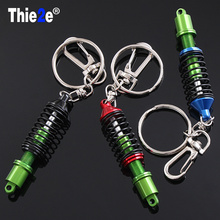 Motorcycle Damper Coilover Key Chain Keychain for Honda Civic Accord Fit CRV HRV City Jazz for Acura MDX RDX TSX(China)