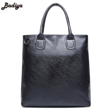 New Fashion Male Briefcase Dress Handbag Made of PU Leather Daily Phone Pouch Business Functional Tote Bag Exclusive Men's Bag