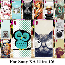 Buy Taoyunxi Silicone Plastic Phone Cover Case Sony Xperia XA Ultra Dual F3212 F3216 F3211 F3215 F3213 C6 Cat Bag Shell for $1.78 in AliExpress store