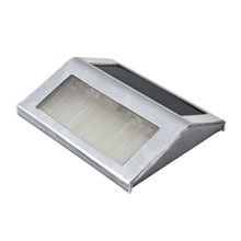 2Pcs/Lot Mini Led Solar Light Outdoor Solar Lights Cold/Warm White Solar Stair Lights Indoor LED Flood Light Garden Lamps(China)