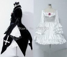 Rozen Maiden Suigintou Mercury Lampe dress Cosplay Costume
