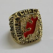 US size 11 factory wholesale price 2000 New Jersey Devils championship rings replica STEVENS drop shipping(China)