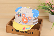Cute Children's Hat Cap Kids Mickey Mouse Hats With Ears Children Baseball cap For Boys Girls Newborn Infant Kids