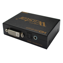 2pcs HDMI to DVI + spdif  Audio Converter adapter Support HDMI 1.3 HDCP analog stereo and  digital audio output