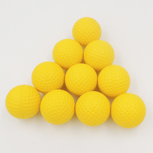 10pcs/pack Soft Indoor Practice PU Golf Balls Training Aid(China)
