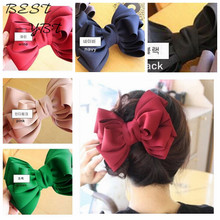 boutique Korea imported genuine head flower headdress hairpin large bow barrette clips for hair accessories