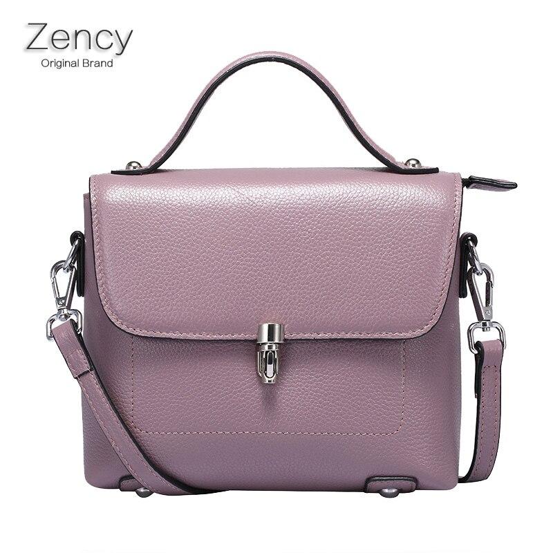 ZENCY Small Flap Women Summer Bag Female Bags Luxury Famous Brands Handbag Genuine Leather Tote Shoulder Messenger Bag Purse<br><br>Aliexpress