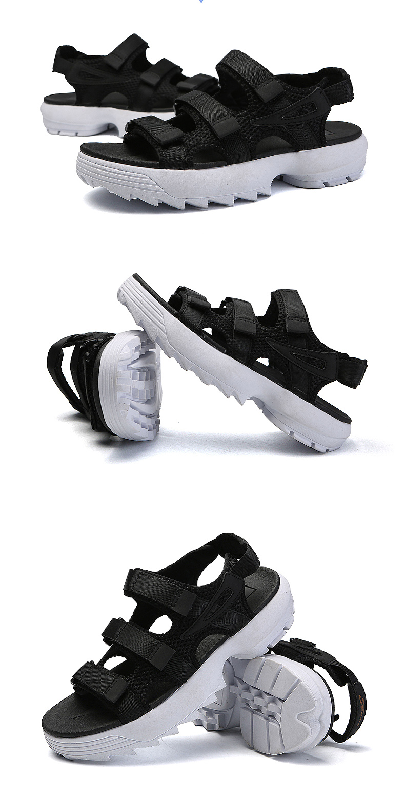 Sandals Men's Beach Shoes Summer Sports Korean Version Of The Trend Increase Big Sandals And Slippers Summer Boys Tide 25 Online shopping Bangladesh