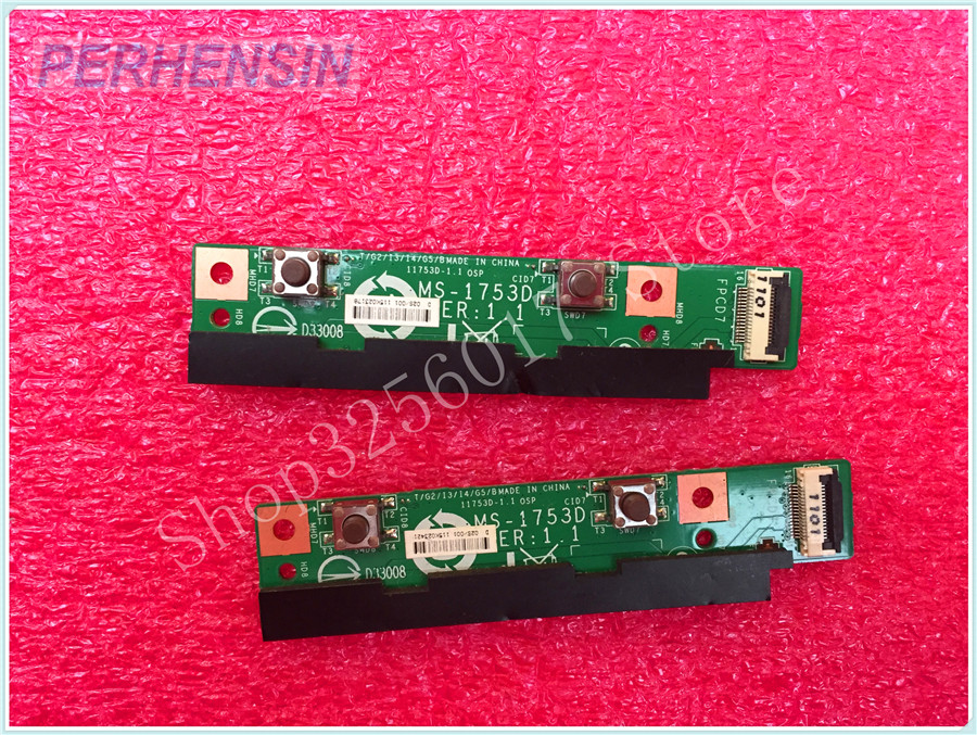 FOR MSI FOR FR720 MS-1753 Laptop BUTTON Boards MS-1753D <br>