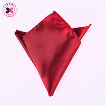 Men's Formal Suits Plain Solid Satin Pocket Square Handkerchief Gentleman's Favourite Hanky 36 Colours